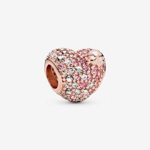 Pandora Pavé Ladybird Heart Charm